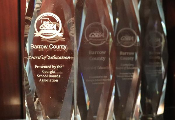 Georgia School Boards Association's (GSBA) 2019 Exemplary School Board recognition