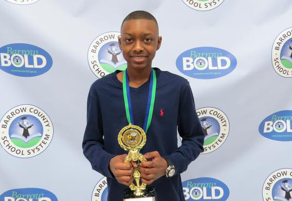 BCSS Spelling Bee Champion KJ Long