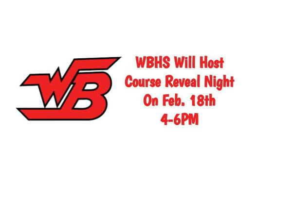 WBHS Hosts Course Reveal Night