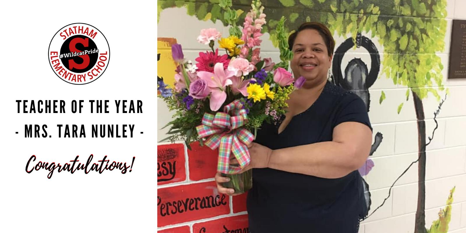 2020-2021 SES Teacher of the Year