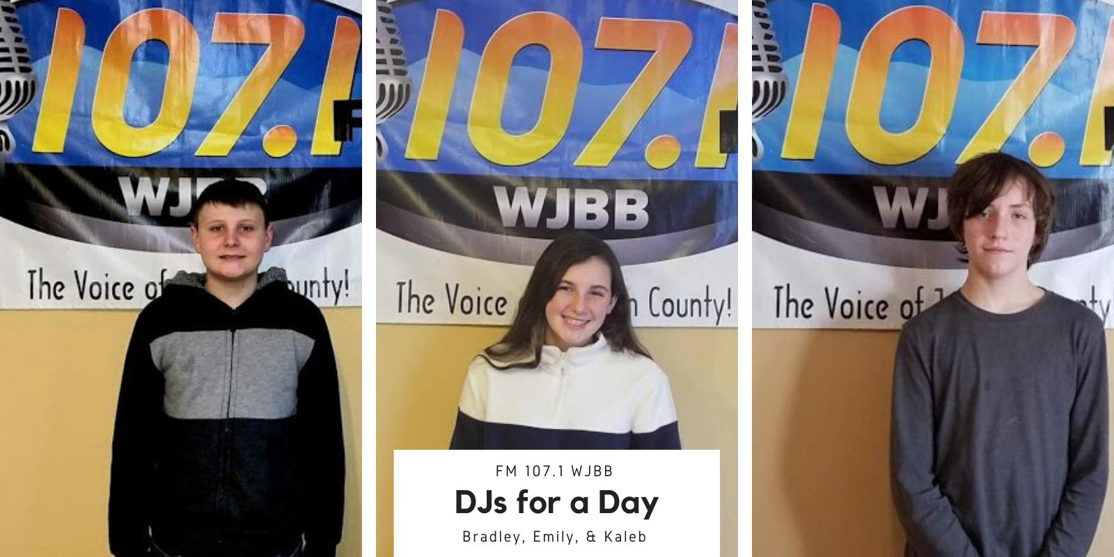 FM 107.1 WJBB DJ for a Day