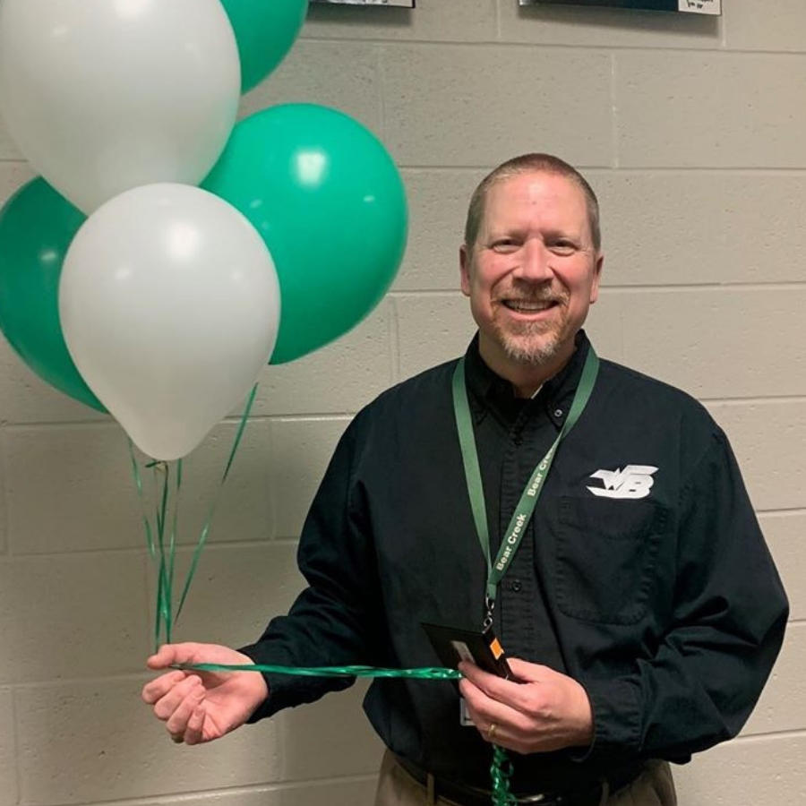 Thomas Blankenship - Bear Creek Middle  20-21 Teacher of the Year