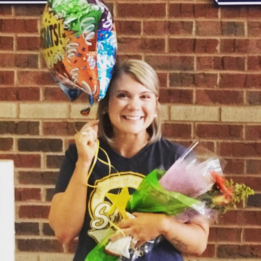 Ashley Akins BES 20-21 Teacher of the Year
