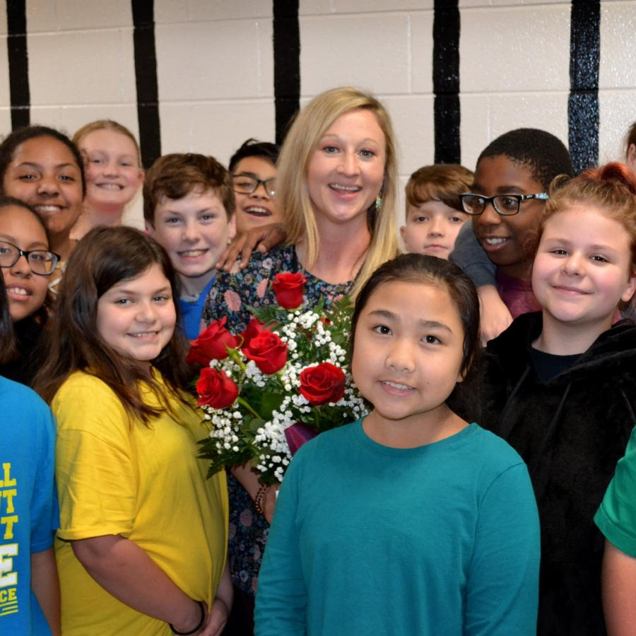 Jenna Nixon - Holsenbeck Elementary 20-21 Teacher of the Year