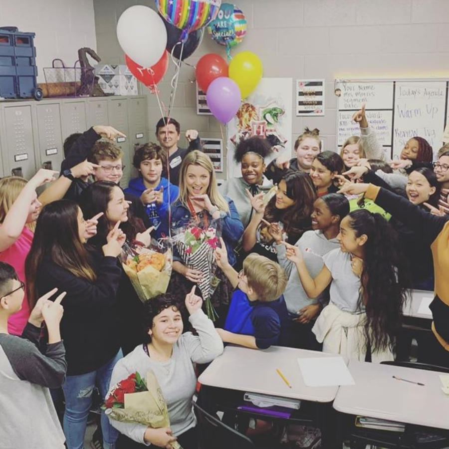 Logan Morris - Russell Middle 20-21 Teacher of the Year