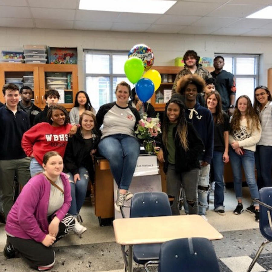 Erin Hunt - Winder-Barrow High 20-21 Teacher of the Year