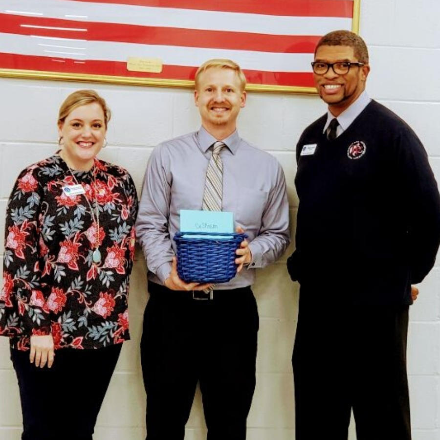 Aaron Stinson - Westside Middle 20-21 Teacher of the Year