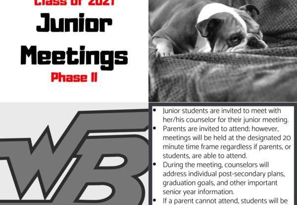 Junior Meetings - Phase II