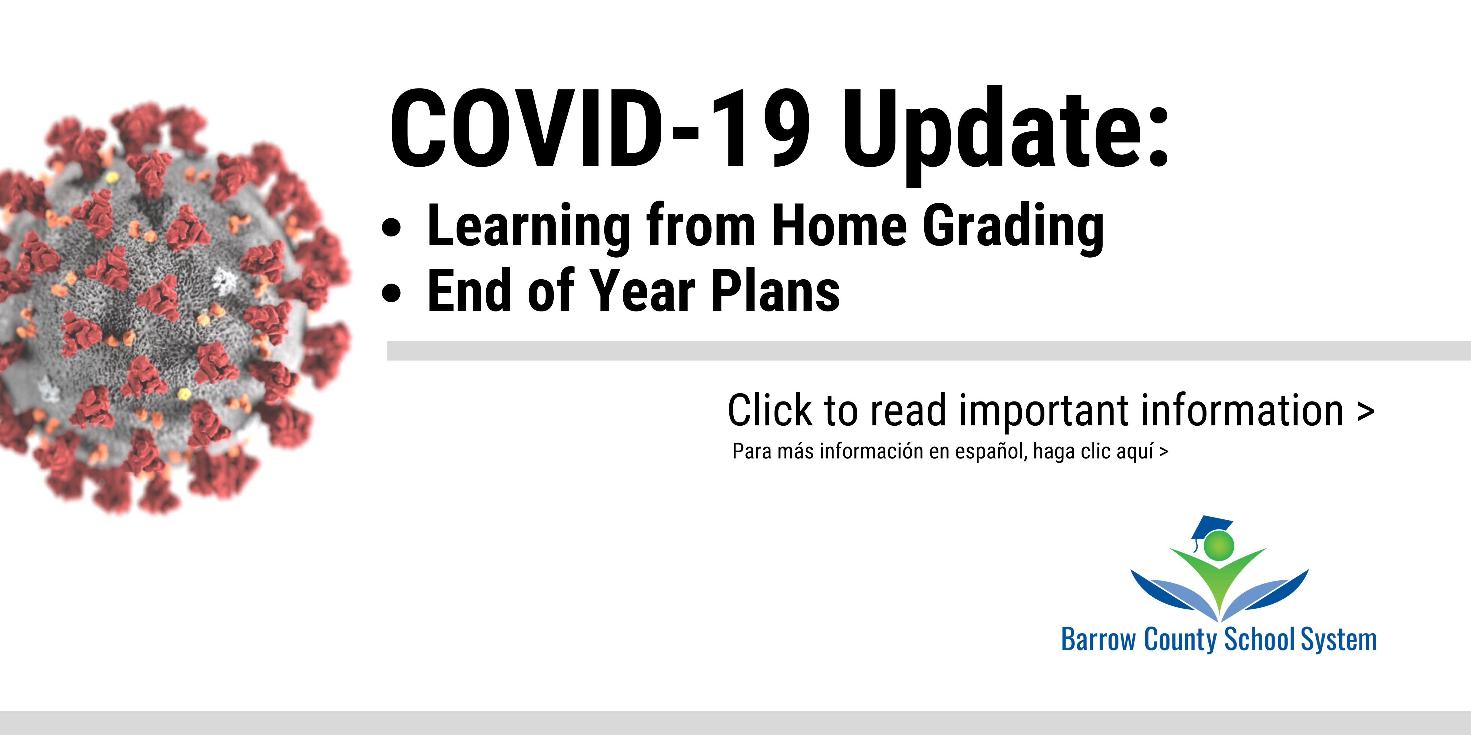 COVID-19 Update: Schools are closed starting Monday, March 16. Click to read important information.