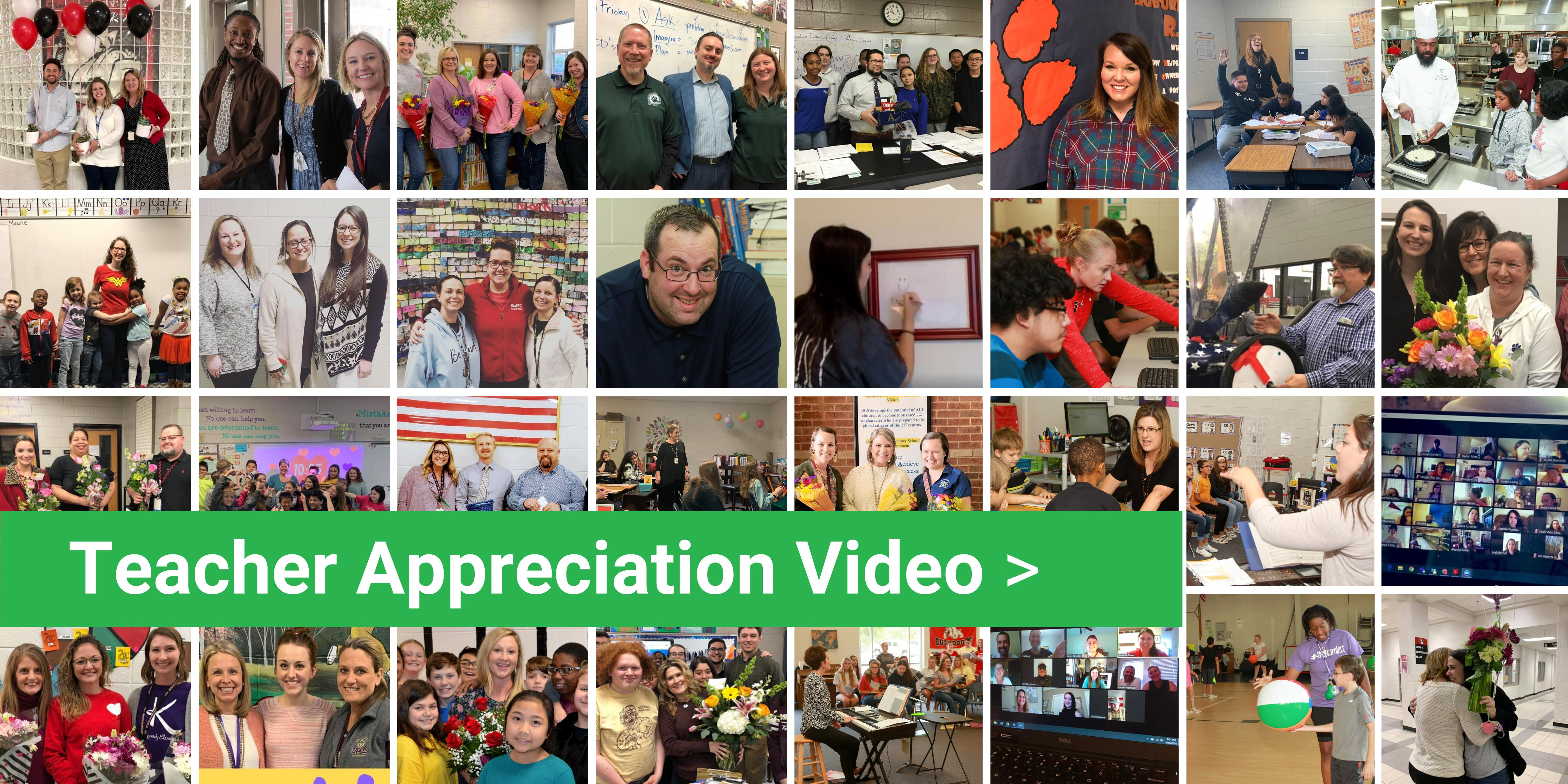 Click to watch our video thanking teachers!