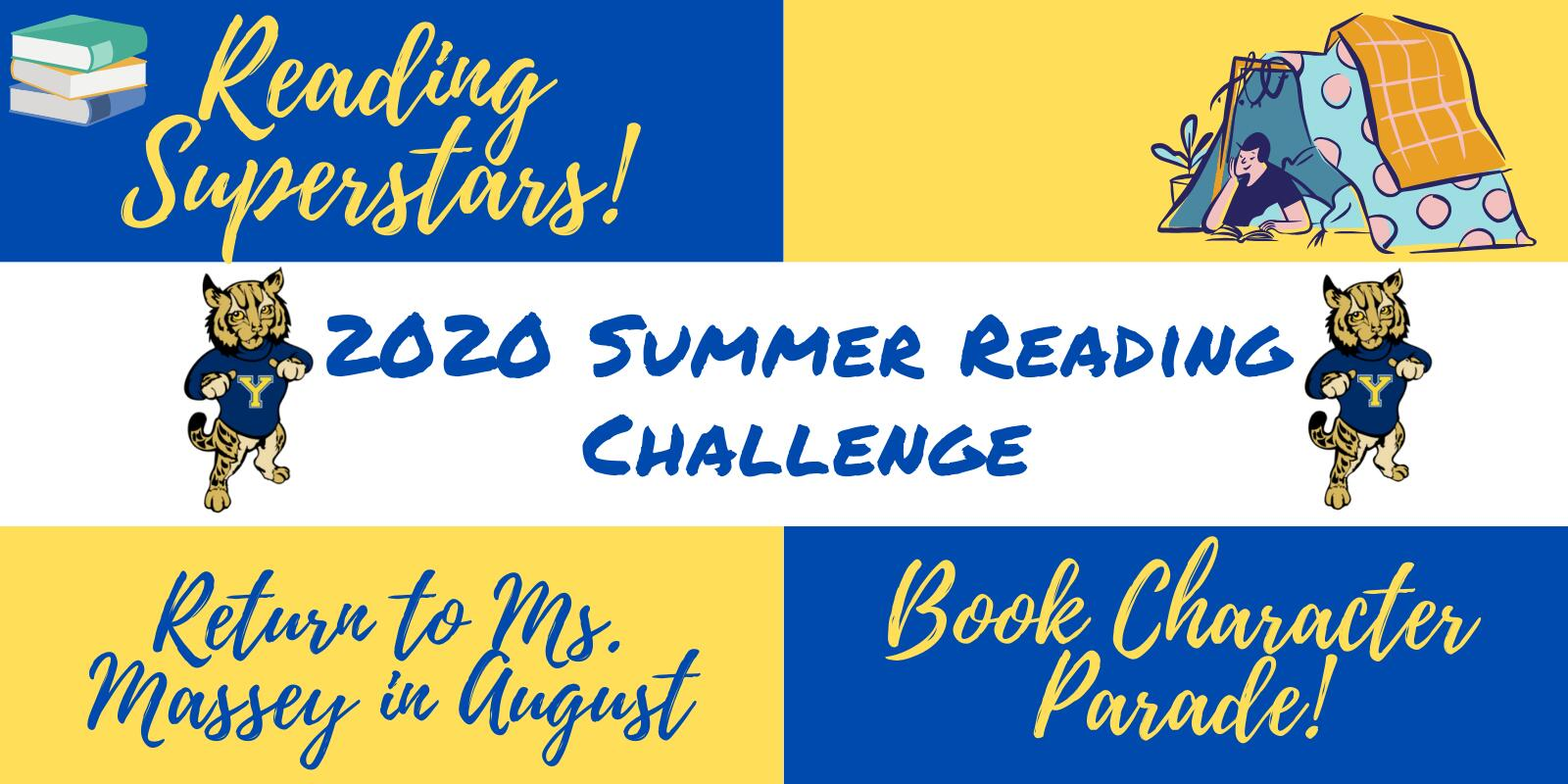 Information about summer reading challenge