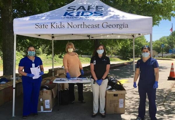 Safe Kids tent