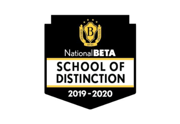 National Beta Schools of Distinction