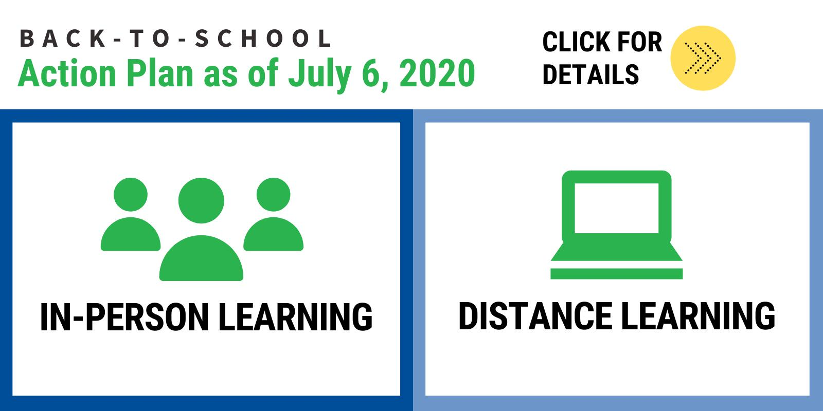 Click to see back-to-school plans for the 20-21 school year.