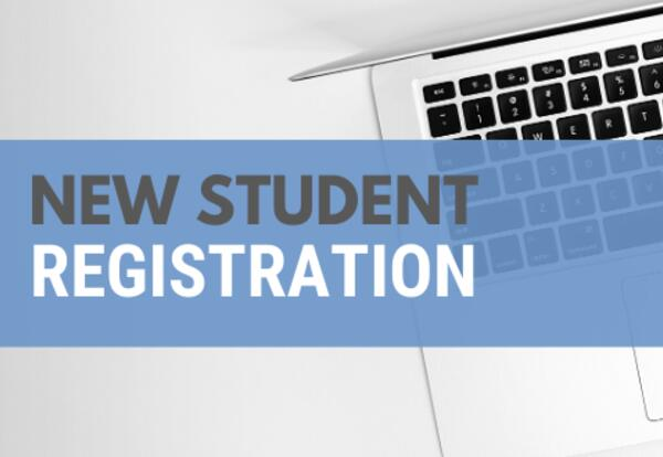 Click to see information about registering new students