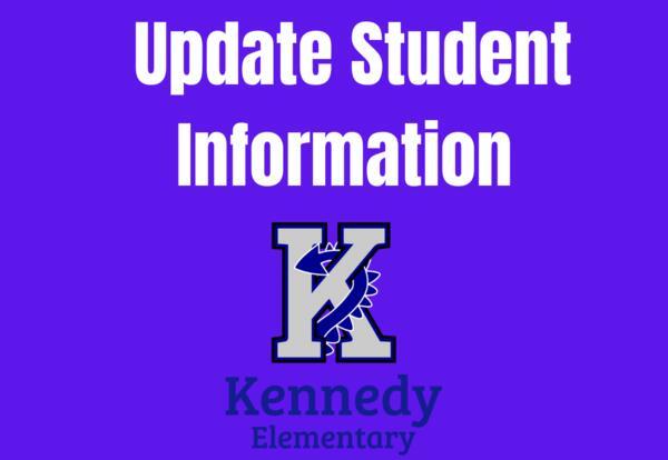 Student Information Update