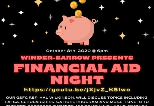 WBHS Financial Aid Night 2020
