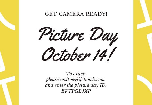 Fall Picture Day - Wednesday, 10/14