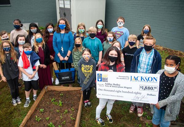 Ten Teachers Awarded $13K from Jackson EMC