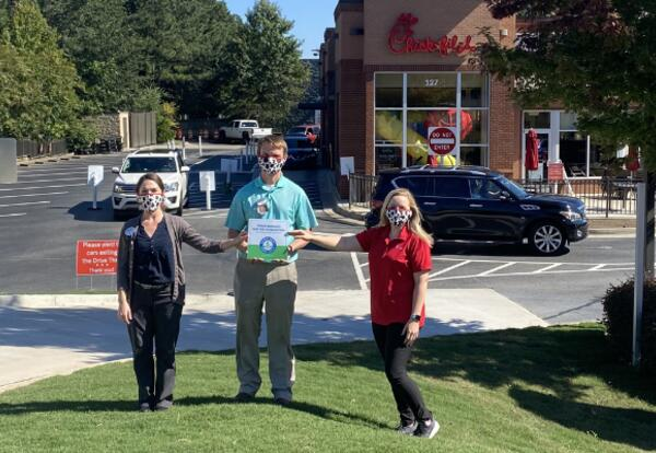 Chick-fil-A team with PIE Sign