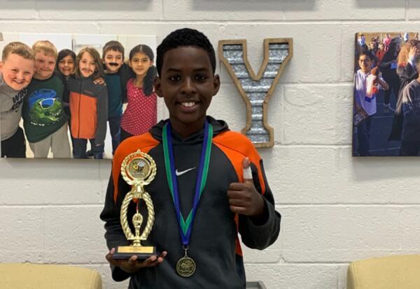 2021 BCSS Spelling Bee Champion - Elijah