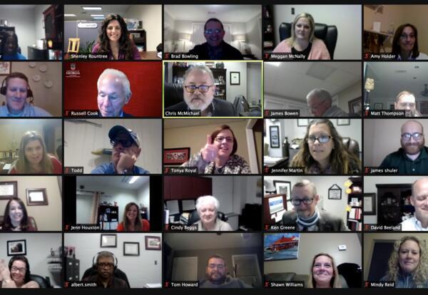 AHS Zoom Strategic Meeting Participant Photo