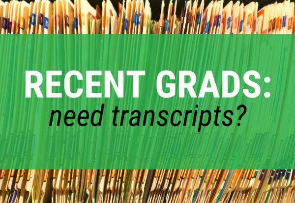 Transcript Information for Recent Graduates