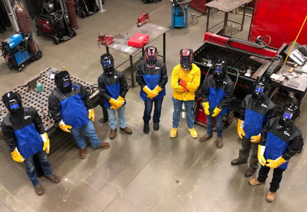 First Dual Enrollment Welding Cohort