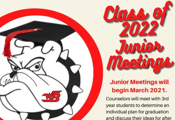 Class of 2022 - Junior Meetings