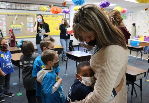 Kindergarten at Auburn Elementary