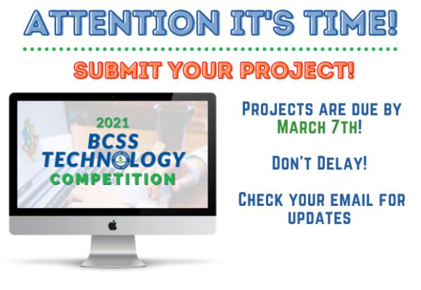 Barrow Student Technology Competition. Time to submit your project