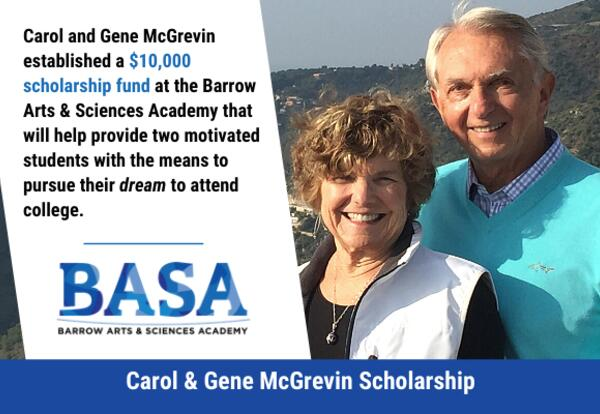 Carol and Gene McGrevin Scholarship Fund
