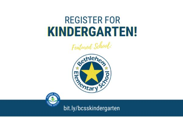 Kindergarten at Bethlehem Elementary