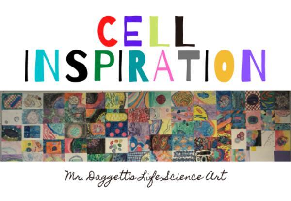 David Goodsell Inspired Cells