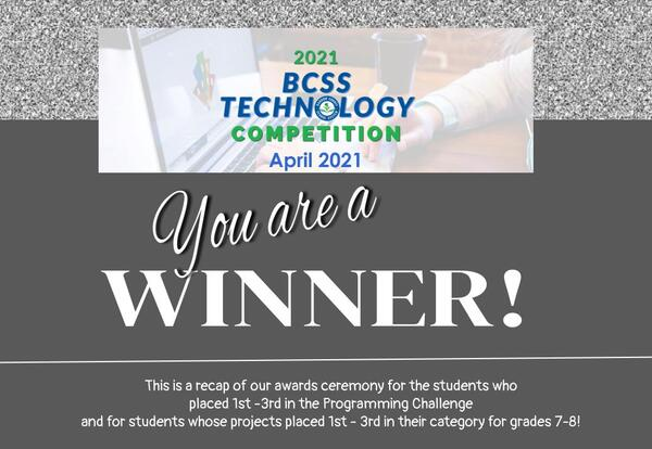 WMS Results: 2021 BCSS Technology Competition