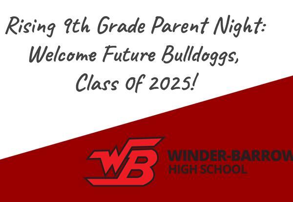 Rising 9th Grade Info Program