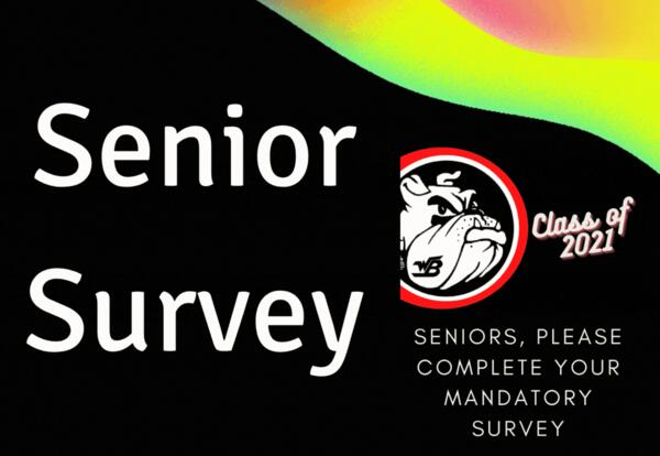 Senior Survey - Class of 2021