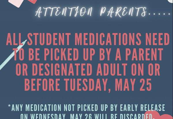 It's Time To Pick Up Your Medicines!