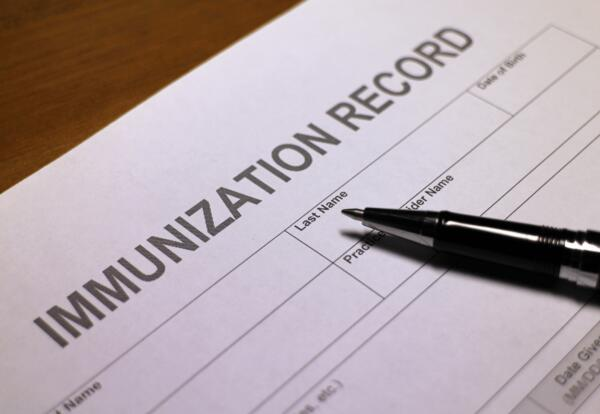 Immunization Reminders for Middle and High Schoolers