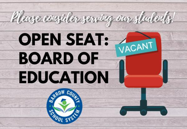 Board of Education Vacant Seat