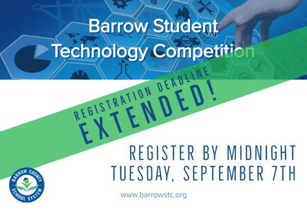 Registration extended until Sept. 7