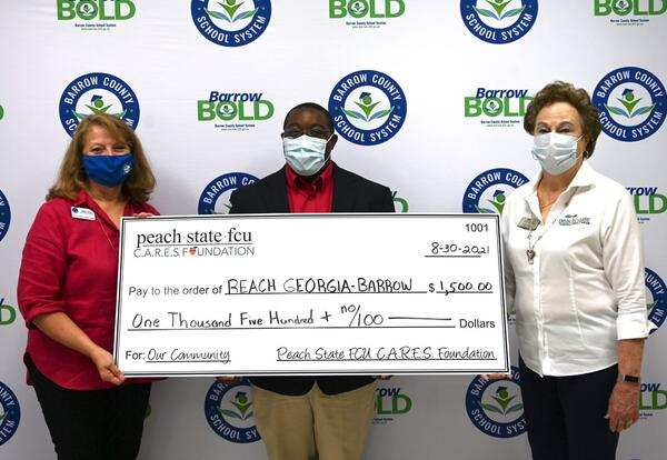 Peach State Federal Credit Union Donation