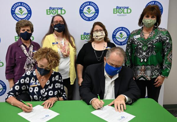 Piedmont Regional Library System & BCSS Sign PIE Agreement