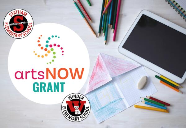 ArtsNow grant for Statham and Winder Elementary Schools