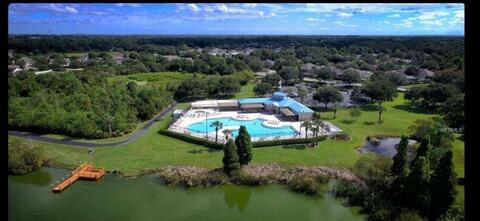 Ariel of Clubhouse  from water