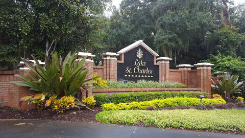 North entrance sign 2