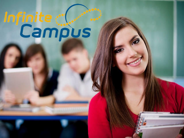 Infinite Campus - student looking at camera