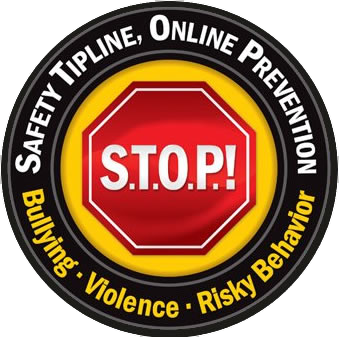 Stop Bullying logo / Safety Tip Line