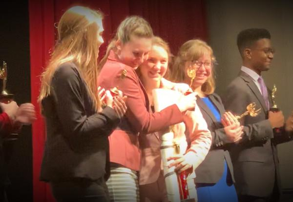 MHS Speech Places Third
