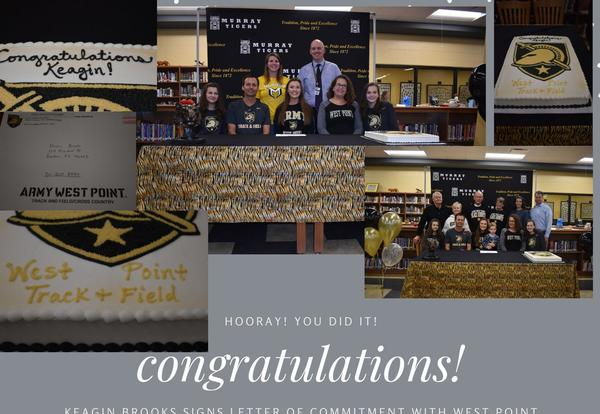 MHS Senior Signs Letter of Commitment with West Point